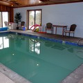 Swimming pool at Swan Hill on Flathead Lake