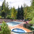 Swimming pool at The Borders Lodge at Beaver Creek