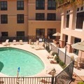 Swimming pool at The Hampton Inn & Suites