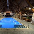 Swimming pool at The Hotel Alyeska