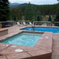 Swimming pool at The Iron Horse Resort