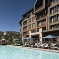 Swimming pool at The Ritz Carlton Highlands Lake Tahoe