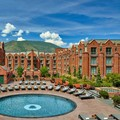 Swimming pool at The St. Regis Aspen Resort