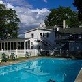 Swimming pool at The Stowe Inn