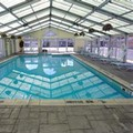 Swimming pool at Thunderbird Inn of Mackinaw City