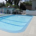 Swimming pool at Tiki Shores Condominium Beach Resort