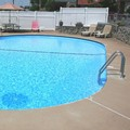 Swimming pool at Town & Country Motel