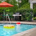 Swimming pool at Towne Suites by Marriott Cincinnati Northeast