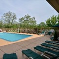 Swimming pool at Towson Place Hotel & Suites