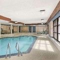 Swimming pool at Travelodge Barrie on Bayfield