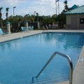 Swimming pool at Travelodge Deltona