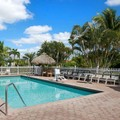 Swimming pool at Travelodge Florida City / Homestead / Everglades