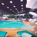 Swimming pool at Travelodge Peoria Hotel & Conference Center