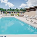 Swimming pool at Travelodge Ruidoso