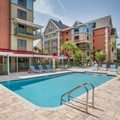 Swimming pool at Tryp by Wyndham Sebastian St. Augustine