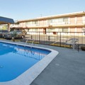 Swimming pool at University Inn & Suites