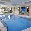 Swimming pool at Waterfront Hotel Downtown Burlington