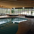Swimming pool at Winter Park Mountain Lodge