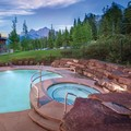 Swimming pool at Worldmark Canmore Banff