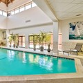 Swimming pool at Wyndham Boston Andover