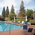 Swimming pool at Wyndham Garden Silicon Valley
