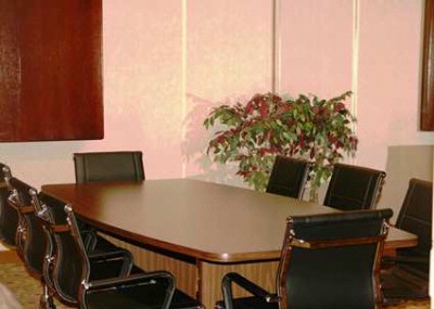 Photo of Columbia Boardroom