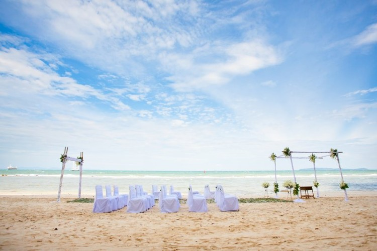 Photo of Beach Wedding