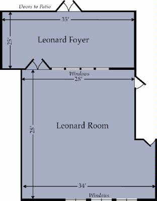 Leonard Room Meeting Space Thumbnail 3