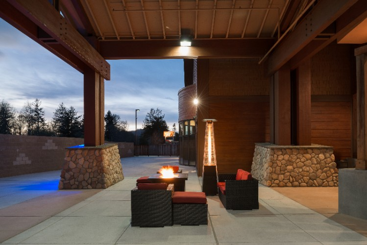 Photo of Outdoor Event Patio