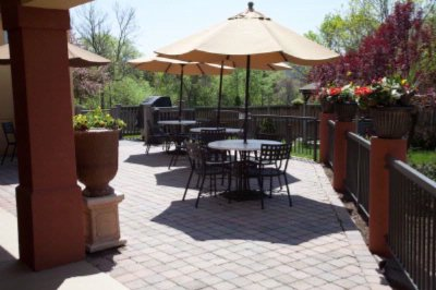 Photo of Outdoor Patio with Gas Grill