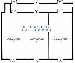 Concorde Ballroom (3 Sections) Meeting Space Thumbnail 2