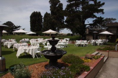 Photo of Outdoor Wedding Reception