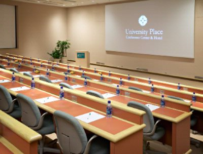 Photo of Tiered meeting room