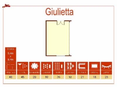 Sala Julieta Meeting Space Thumbnail 1