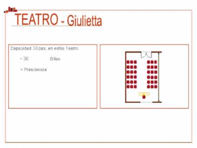 Sala Julieta Meeting Space Thumbnail 2