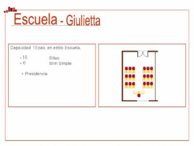 Sala Julieta Meeting Space Thumbnail 3
