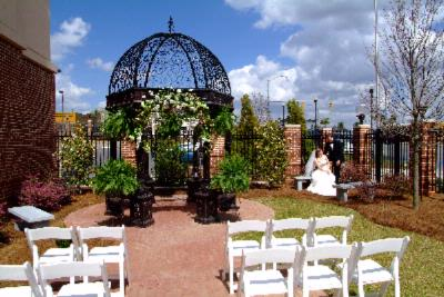 Photo of Courtyard Reception and Ceremony Space