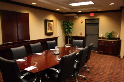 Hampton Inn Webster Boardroom Meeting Space Thumbnail 2