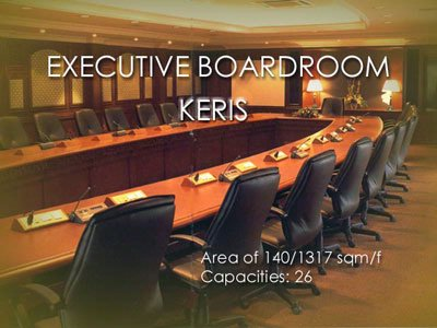 Photo of Keris Boardroom