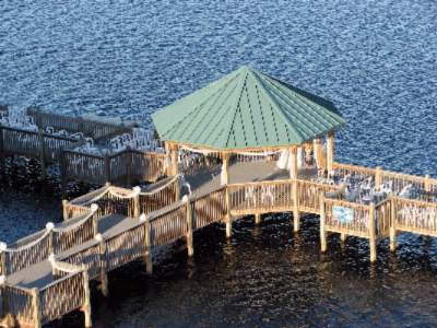 Photo of Side Walkways to the Dock