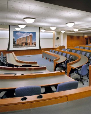 Photo of Pfahl 140 - Tiered Classroom