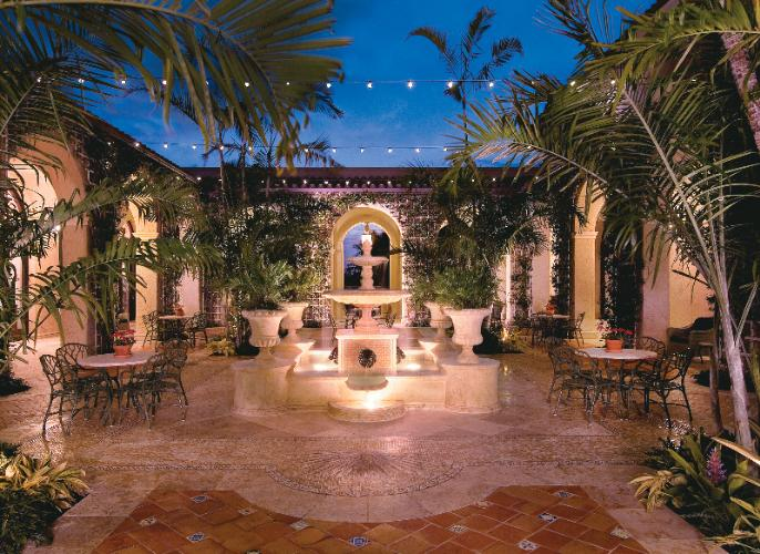 Photo of Palm Courtyard