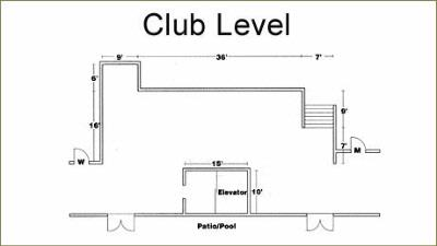 Club Level-Mezzanine Area Meeting Space Thumbnail 2