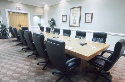 Photo of Helen Otis Pope Executive Boardroom