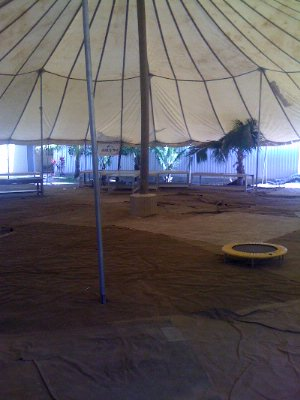 Photo of Under the big tent!