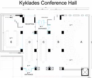 KYKLADES CONFERENCE HALL Meeting Space Thumbnail 2