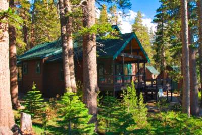 Photo of LEED Cabin