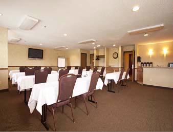 Photo of Super 8 meeting room