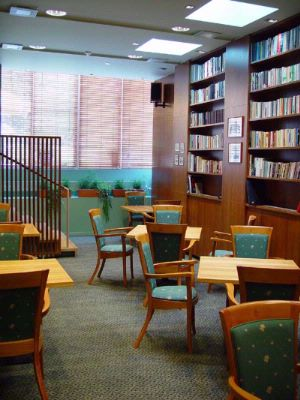 Photo of Library room