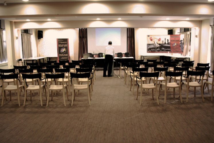 Chocolate conference room Meeting Space Thumbnail 2